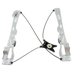09-14 Ford F-150 Crew Cab Window Regulator without Motor LR