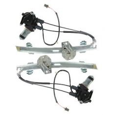1994-97 Honda Accord 2dr Power Window Regulator Pair High Quality