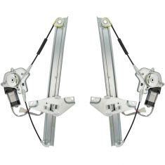 92-96 Camry 4dr Pwr Window Regulator Pair Front HQ