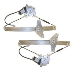 1992-96 Toyota Camry 4dr Sedan and Wagon Power Window Regulator Pair Front High Quality