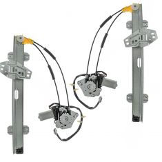 94-97 Accord Power Window Regulator Pair