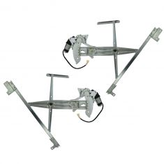 1995-99 Mitsubishi Eagle Eclipse Talon Power Window Regulator With Motor Pair