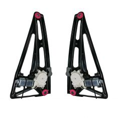 95-01 BMW 740i 750i Window Regulator With Motor Rear Pair