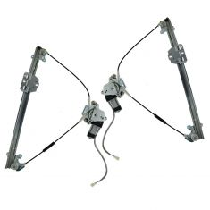 89-98 Suzuki Sidekick 2dr Window Regulator w/Motor PAIR