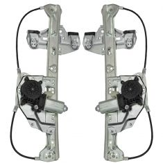 00-05 Cadillac Deville Power Window Regulator w/Motor PAIR