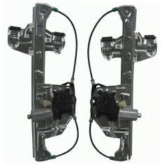 2000-05 Cadillac Deville Power Window Regulator w/Motor PAIR