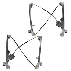 99-07 GM GMC Truck Manual Window Regulator Pair