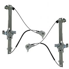 92-11 Ford Econoline Van Manual Window Regulator Pair
