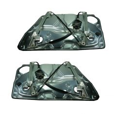 Front Window Regulator Pair