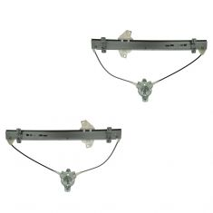 96-00 Hyundai Elantra Manual Window Regulator Pair