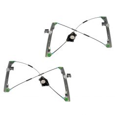 98-10 VW Beetle Power Window Regulator w/o Motor Front PAIR