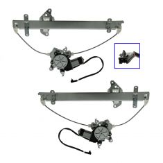 95-99 Maxima Pwr Window Reg w/Motor HQ PAIR