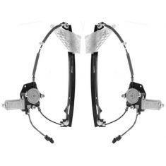 99-00 Grand Cherokee Window Regulator w/ Motor PAIR