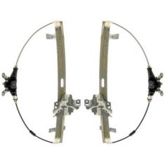 1998-00 Amigo 98-04 Rodeo Manual Window Regulator PAIR