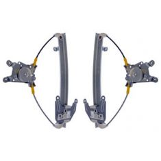 1993(from 8/93)-97 Nissan Altima Power Window Regulator w/o Motor Rear PAIR