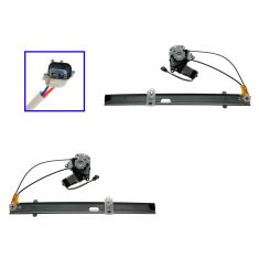 02-06 (thru 1/18/06) Jeep Liberty Power Window Regulator w/Motor REAR PAIR