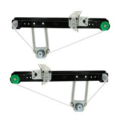 2000-07 Focus Manual Window Regulator Rear PAIR
