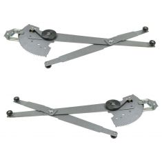 1977-78 Dodge PU, Ramcharger, Trailduster Manual Window Regulator PAIR