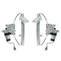 07-11 Nissan Altima, Altima Hybrid; 09-11 Maxima (w/o Auto Down) Power Window Regulator w/Motor Pair