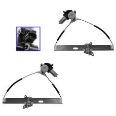 08-12 Ford Escape, Hybrid; 08-11 Mariner, Hybrid Front Door Power Window Regulator w/Motor PAIR