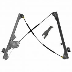 99-07 GM GMC Truck Manual Window Regulator LF w/ tool