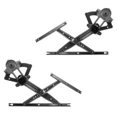 99-14 Ford F250SD, F350SD; 99-03 F450SD, FF550SD Front Door Manual Window Regulator Pair