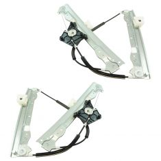 08-10 Dodge Avenger Front Door Power Window Regulator (w/o Motor) PAIR