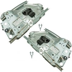 01-06 Chrysler Sebring Convertible (Rear 1/4 Panel Mtd) Power Windor Regulator (w/o Motor) Pair