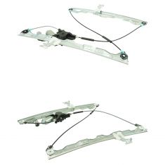 04-15 Nissan Titan, Armada; 04-10 Infiniti QX56 Front Door Power Window Regulator w/Motor Pair