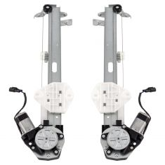 08-12 Honda Accord Coupe (wo/Express Up and Down) Window Regulator PAIR