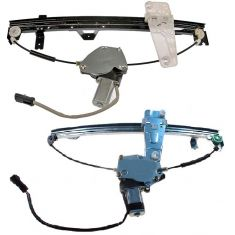 00 (from 3/10/00)-04 Grand Cherokee Window Regulator w/ Motor PAIR (Dorman)