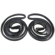 71-76 Door Weatherstrip Seals 4 Door Sedan & Wagon Front