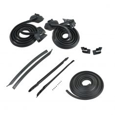 Skylark GS Cutlass 442 Convertible 9 piece Weatherstrip set