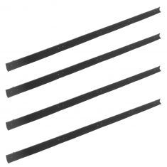 1972-79 Dodge PU 74-79 Ramcharger Inner & Outer Door Window Sweep SET