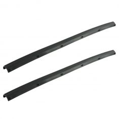 99-16 Ford F250SD-F550SD Crew Cab Rear Door Mounted Lower Weatherstrip Seal PAIR (Ford)
