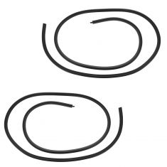 07-14 GM FS SUV; 07-13 Avalanche, Escalade EXT Front Door Mounted Rubber Weatherstrip Seal PAIR (GM)
