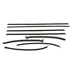 Window Sweep 8 Piece Set for 2 Door Hardtop Models