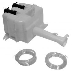 95-99 Hyundai Accent (w/RR Wiper) Windshield Washer Reservoir w/Pump