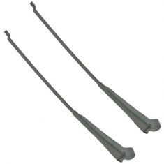 68-83 Jeep CJ5; 68-75 CJ6; 76-86 CJ7; 68 CJ5A, CJ6A; 81-85 CJ8, Scrambler Wiper Arm PAIR