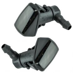 08-12 Ford Fusion, Lincoln MKZ; 08-11 Mercury Milan Windshield Wiper Washer Nozzle Pair