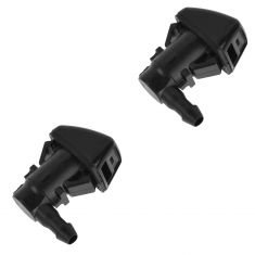 07(from 12/06) -10 Ford F250SD-F450SD Windshield Wiper Washer Jet Spray Nozzle PAIR (Ford)