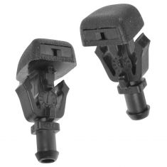 06-10 QX56 Unpainted; 04-14 Armada, Titan Windshield Washer Spray Nozzle Jet Pair (Nissan)