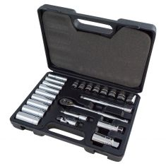 23pc 3/8 Drive Metric Socket Set