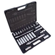 "26pc 1/2"" Dr MET Socket Set"