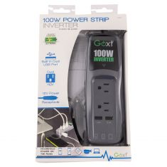 100W Dual USB 3.1 Amp Power Strip Invterter