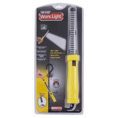 Corded LED (120 Lumens) Yellow Hanging/Dual Magnetic Worklight w/25 foot 18/2 SJT Cord