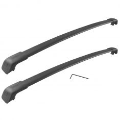 13-15 Hyundai Sante Fe (w/Side Roof Rails) Roof Rack Cross Rail Package (Hyundai)