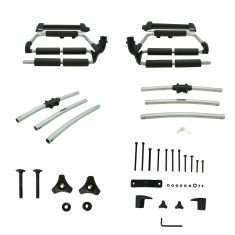 97-16 Jeep Wrangler; 02-07 Liberty ~Thule~ Spare Tire Carrier Mounted Snowboard & Ski Rack (Mopar)