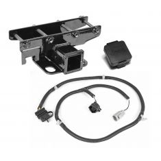 Receiver Hitch Kit for 07-14 JK with Jeep Plug
