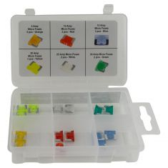 15pc Micro Fuse Assortment